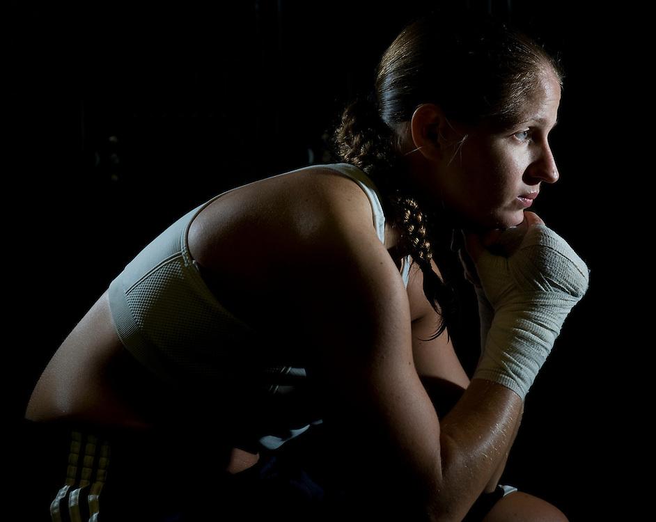 04/10/2010-La Habra Boxing Gym-La Habra, Ca.  Photo by Sabrina Schaeffer.