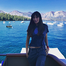 """Sofia Vergara releases a photo on Instagram with the following caption: """"Lago Tahoe\ud83d\udef6#modernfamily #setlife\ud83c\udfa5"""". Photo Credit: Instagram *** No USA Distribution *** For Editorial Use Only *** Not to be Published in Books or Photo Books ***  Please note: Fees charged by the agency are for the agency's services only, and do not, nor are they intended to, convey to the user any ownership of Copyright or License in the material. The agency does not claim any ownership including but not limited to Copyright or License in the attached material. By publishing this material you expressly agree to indemnify and to hold the agency and its directors, shareholders and employees harmless from any loss, claims, damages, demands, expenses (including legal fees), or any causes of action or allegation against the agency arising out of or connected in any way with publication of the material."""