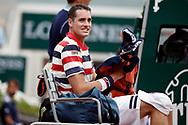 John ISNER (USA) during the Roland Garros French Tennis Open 2018, day 9, on June 4, 2018, at the Roland Garros Stadium in Paris, France - Photo Stephane Allaman / ProSportsImages / DPPI