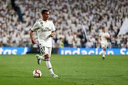 September 22, 2018 - Lucas Vazquez of Real Madrid during the La Liga (Spanish Championship) football match between Real Madrid and RCD Espanyol on September 22th, 2018 at Santiago Bernabeu stadium in Madrid, Spain. (Credit Image: © AFP7 via ZUMA Wire)