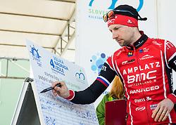 MUGERLI Matej (SLO) of BMC Amplatz during the UCI Class 1.2 professional race 4th Grand Prix Izola, on February 26, 2017 in Izola / Isola, Slovenia. Photo by Vid Ponikvar / Sportida