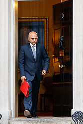 © Licensed to London News Pictures. 27/06/2017. London, UK. Local Governments and Communities Secretary SAJID JAVID attends a cabinet meeting in Downing Street, London on Tuesday, 27 June 2017. Photo credit: Tolga Akmen/LNP