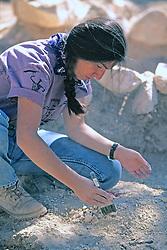 Alexandra Adinamis Excavating Site