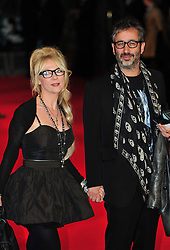 © Licensed to London News Pictures. 24/01/2012. London, England. David Baddiel attends the world premiere of The Woman in Black , Hammer Films new horror movie at The Royal Festival hall  London  Photo credit : ALAN ROXBOROUGH/LNP