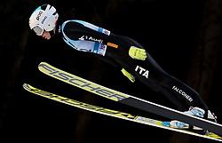 February 7, 2019 - Ljubno, Savinjska, Slovenia - Elena Runggaldier of Italy competes on qualification day of the FIS Ski Jumping World Cup Ladies Ljubno on February 7, 2019 in Ljubno, Slovenia. (Credit Image: © Rok Rakun/Pacific Press via ZUMA Wire)