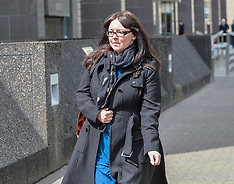 Former SNP MP Natalie McGarry appears for sentencing, Glasgow, 10 May 2019
