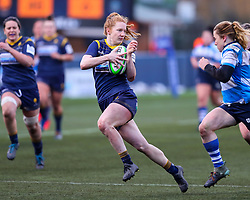 Paige Farries of Worcester Warriors Women - Mandatory by-line: Nick Browning/JMP - 09/01/2021 - RUGBY - Sixways Stadium - Worcester, England - Worcester Warriors Women v DMP Durham Sharks - Allianz Premier 15s