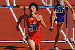 Liu Xiang CHN in action during Olympics Games Athletics day 12 on August 24, 2004 in Olympic Stadion Spyridon Louis, Athens.