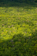 Aerial photograph of Kettle Moraine State Forest, Sheboygan County, Wisconsin, USA.