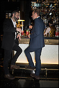 ERIC FELLNER; BALTASAR KORMAKUR, Party to celebrate Vanity Fair's very British Hollywood issue. Hosted by Vanity Fair and Working Title. Beaufort Bar, Savoy Hotel. London. 6 Feb 2015