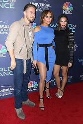 Derek Hough, Jennifer Lopez and Jenna Dewan Tatum at the World Of Dance Celebration held at Delilah on September 19, 2017 in West Hollywood, CA, USA (Photo by JC Olivera/Sipa USA)