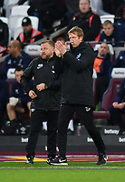 Football - 2019 / 2020 Premier League - West Ham United vs. Brighton & Hove Albion<br /> <br /> Brighton & Hove Albion Head Coach Graham Potter, at The London Stadium.<br /> <br /> COLORSPORT/ASHLEY WESTERN
