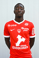 Ibrahima Sissoko of Brest during the Photo shooting of Stade Brestois in Brest on september 22th 2016<br /> Photo : Philippe Le Brech / Icon Sport