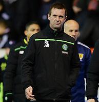 03/02/16 LADBROKES PREMIERSHIP<br /> ABERDEEN v CELTIC<br /> PITTODRIE - ABERDEEN<br /> Celtic manager Ronny Deila