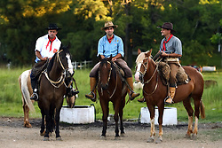 Gaúchos no 12 Rodeio Internacional do Mercosul, um dos maiores eventos do gênero. FOTO: Jefferson Bernardes/Preview.com
