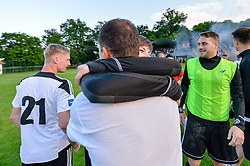 football match between ND Mura and ND Tabor Sezana in Round #28 of 2.SNL 2017/18 on May 13, 2018 in Mestni stadion Fazanerija , Murska Sobota , Slovenia. Photo by Mario Horvat / Sportida