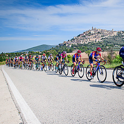 WILD Kirsten ( NED ) – SANTESTEBAN GONZALEZ Ane ( ESP ) - MAGNALDI Erica ( ITA ) - Ceratizit-WNT Pro Cycling ( WNT ) - GER – Querformat - quer - horizontal - Landscape - Event/Veranstaltung: Giro Rosa Iccrea - 4. Stage - Category/Kategorie: Cycling - Road Cycling - Cycling Tour - Elite Women - Location/Ort: Europe – Italy - Start: Assisi - Finish: Tivoli - Discipline: Cycling - Road Cycling - Cycling Tour - Road Race ( RR ) - Distance: 170,3 km - Date/Datum: 14.09.2020 – Monday - Photographer: © Arne Mill - frontalvision.com