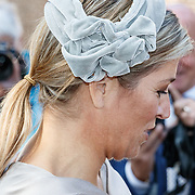 NLD/Apeldoorn/20161005 - Koningin opent tentoonstelling Anna Paulowna, kleurrijke koningin, Koningin Maxima