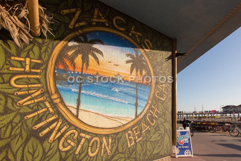 Zacks Snack Shop and Beach Rentals at the Huntington Beach Pier