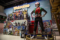 Japanese Action Heros at Toei Studio Park or Toei Uzumasa Eigamura is a film set and theme park in Kyoto. Besides being where Japanese period movies are filmed known as jidaigeki' or period dramas. The park also features ninja shows, oiron processions, seasonal events, dress-up-like-geisha studios, a haunted house and the ubiquitous shopping. The park's buildings are made up of Edo period traditional buildings including reproduction of Nihonbashi Bridge, and now defunct Yoshiwara Red Light District. The structures are also used as backdrops for filming historical movies or television dramas.