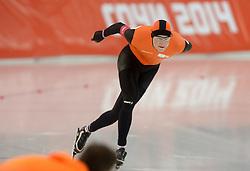 08-02-2014 SCHAATSEN: OLYMPIC GAMES: SOTSJI<br /> Goud voor Sven Kramer op de 5000 meter<br /> ©2014-FotoHoogendoorn.nl