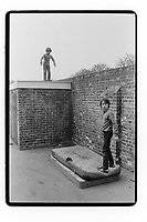 Children playing in South East London. South-East London, 1982