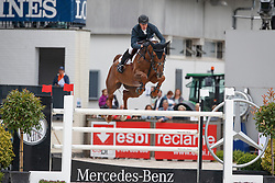 Clemens Pieter, BEL, Horizon de Regor<br /> Longines Grand Prix Port of Rotterdam<br /> CHIO Rotterdam 2017<br /> © Hippo Foto - Dirk Caremans<br /> 25/06/2017