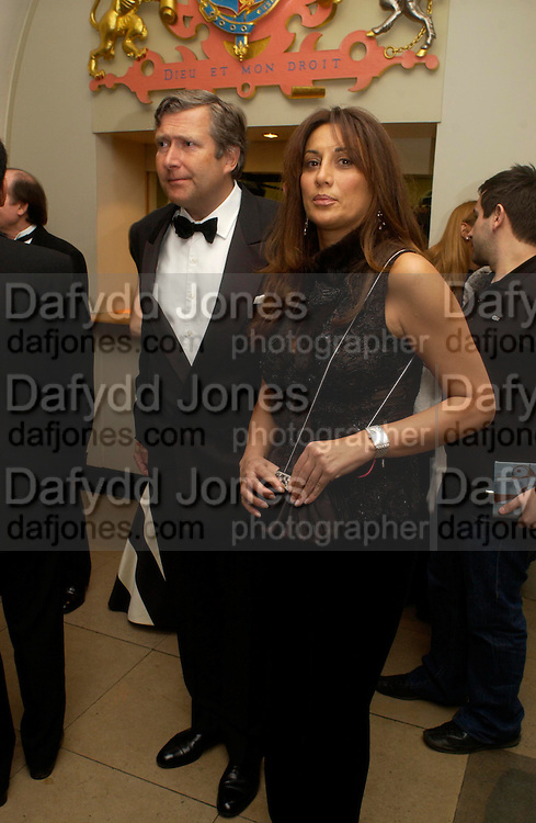 Dinner to unveil the Van Cleef & Arpels jewellery collection 'Couture' with fashion by Anouska Hempel Couture. The Banqueting House, Whitehall Palace, London on 8th March 2005.ONE TIME USE ONLY - DO NOT ARCHIVE  © Copyright Photograph by Dafydd Jones 66 Stockwell Park Rd. London SW9 0DA Tel 020 7733 0108 www.dafjones.com