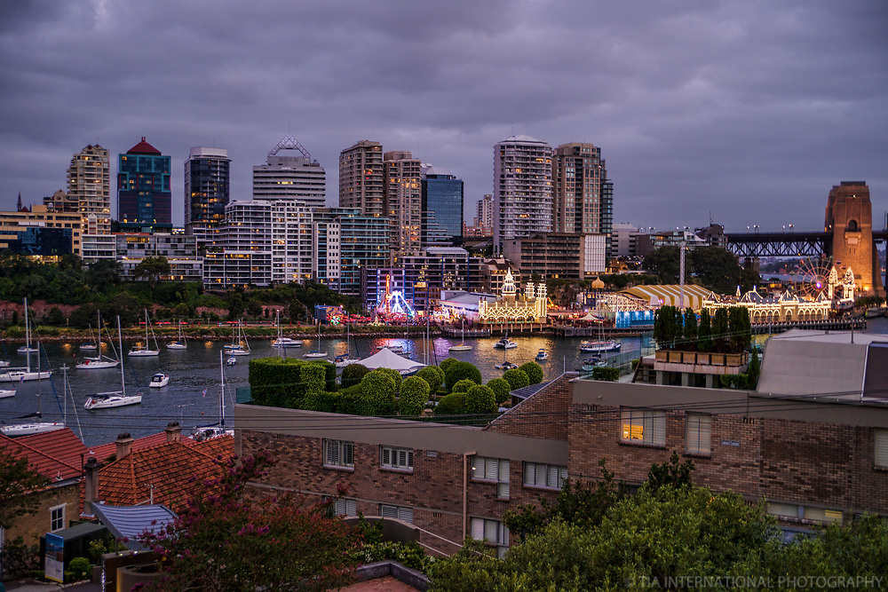 North Sydney feat. Luna Park & Lavender Bay