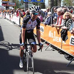 20-04-2016: Wielrennen: Waalse Pijl vrouwen: Huy    <br />HUY (BEL) cycling    <br />The Fleche Wallomne is the last springrace in the Womens Worldtour. Charlotte Becker