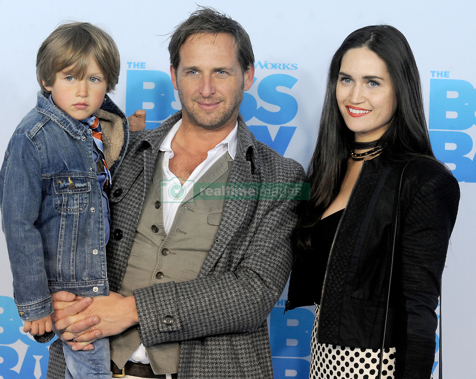 Noah Rev Maurer, Josh Lucas and Jessica Ciencin Henriquez attending The Boss Baby premiere at AMC Loews Lincoln Square 13 theater on March 20, 2017 in New York City, NY, USA. Photo by Dennis Van Tine/ABACAPRESS.COM