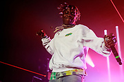 August 11, 2017: Lil Yachty hosts opening night of his Teenage Tour in Dallas, TX at the Bomb Factory. The Atlanta rapper was joined on the tour by his friends The Sailing Team and Diego Money.