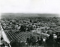1924 Looking south from Curson Ave.