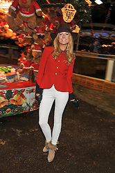 KIMBERLY GARNER at the opening of the 2012 Winter Wonderland, Hyde Park on 22nd November 2012.
