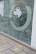 A Sushi business remains closed with its windows whitewashed during the third lockdown of the Coronavirus  pandemic, in the City of London, the capital's financial district, on 10th February 2021, in London, England.