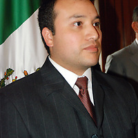 TOLUCA, México.- Marco Antonio Monrroy Fonseca, jefe de la unidad de Información, Programación y Evaluación. Agencia MVT / José Hernández. (DIGITAL)