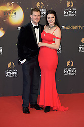 Red Carpet for the closing ceremony of 58th Monte-Carlo International Television Festival. 19 Jun 2018 Pictured: Justin Prentice, Annika Pampel. Photo credit: maximon / MEGA TheMegaAgency.com +1 888 505 6342