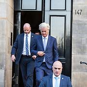 NLD/Amsterdam/20180116 - Nieuwjaarsontvangsten Koning en Koningin, Geert Wilders