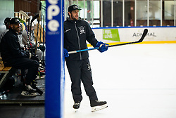 Anze Kopitar during practice at Hockey Academy of Anze Kopitar and Tomaz Razingar, on July 9, 2019 in Ice Hockey arena Bled, Slovenia. Photo by Vid Ponikvar / Sportida