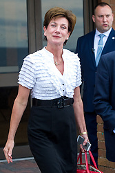 September 17, 2016 - London, England, United Kingdom - Image ©Licensed to i-Images Picture Agency. 17/09/2016. London, United Kingdom.  Newly elected leader of UKIP, Diane Smith MEP departs from the UKIP conference in Bournemouth. Picture by i-Images (Credit Image: © i-Images via ZUMA Wire)