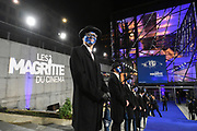 Brussels , 01/02/2020 : Les Magritte du Cinema . The Academie Andre Delvaux and the RTBF, producer and TV channel , present the 10th Ceremony of the Magritte Awards at the Square in Brussels .<br /> Illustrations<br /> Credit : Alexis Haulot - Dana Le Lardic - Didier Bauwerarts - Frédéric Sierakowski - Olivier Polet / Isopix