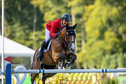 Will David, GER, C Vier<br /> European Championship Riesenbeck 2021<br /> © Hippo Foto - Dirk Caremans<br /> 05/09/2021