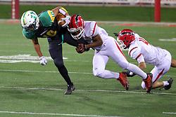 20 October 2017: Glenwood Titans at Normal University High Pioneers. IHSA football, Normal Illinois<br /> <br /> #uhighisu #alphoto513 #IHSA #IHSAFootball