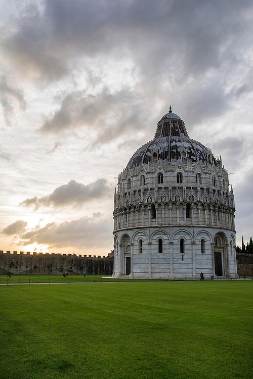 The Duomo in Pisa.