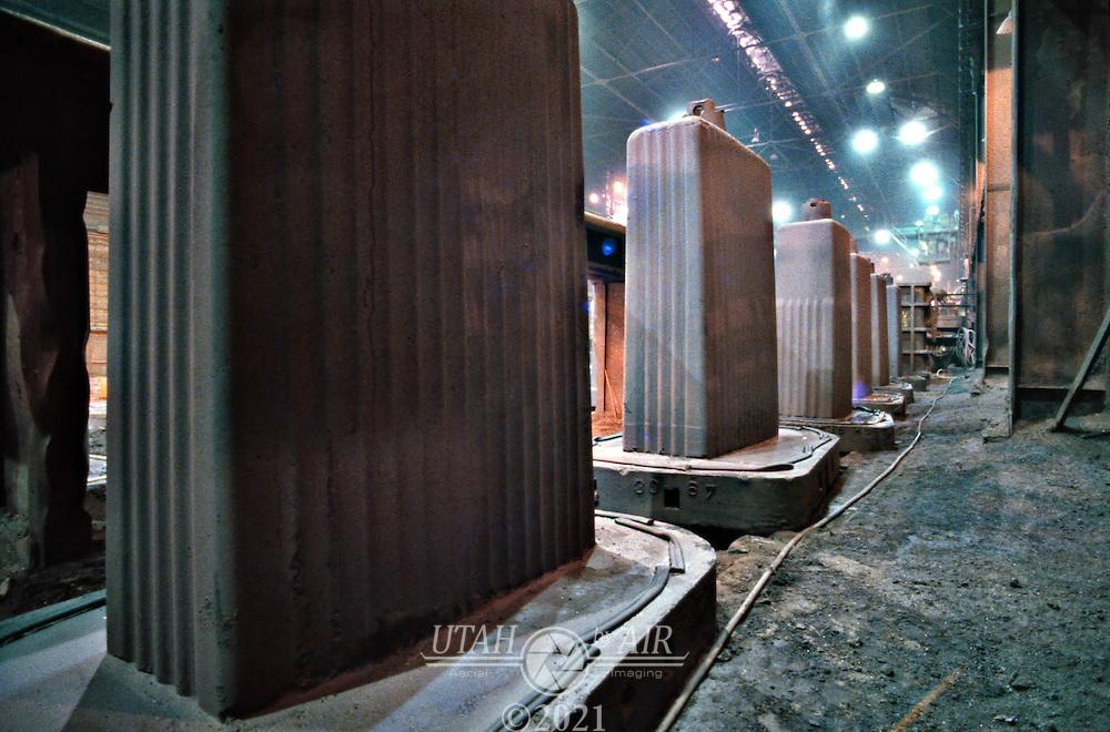 Geneva Steel Foundry ingots.