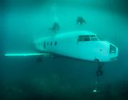 Aircraft Challenger 600 at Dutch Springs,  Scuba Diving Resort in Pennsylvania
