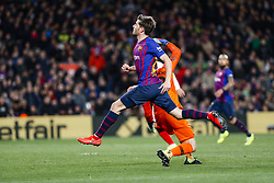 January 30, 2019 - Barcelona, Spain - FC Barcelona midfielder Sergi Roberto (20) during the match FC Barcelona v Sevilla CF, for the round of 8, second leg of the Copa del Rey played at Camp Nou  on 30th January 2019 in Barcelona, Spain. (Credit Image: © Mikel Trigueros/NurPhoto via ZUMA Press)