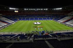 October 2, 2018 - Decines Charpieu - Parc Ol, France - Presentation des joueurs (lyon) et (shakhtar donetsk) dans un stade a huis clos (Credit Image: © Panoramic via ZUMA Press)