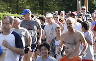 Middletown, NY - Runners compete in the Ruthie Run 5K road race on June 7, 2009.