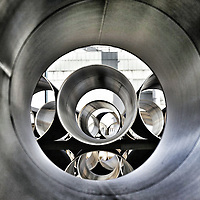 Steel tubes for North Sea Gas